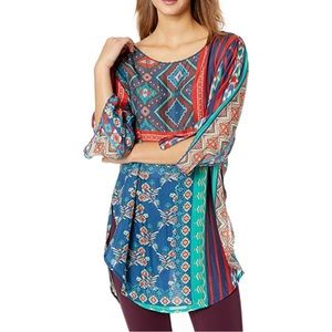 Johnny Was Tunic Small NWT